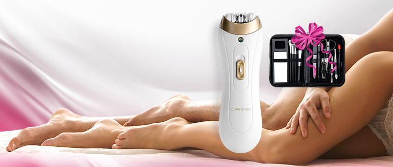 Wellneo mini epilator + POKLON!