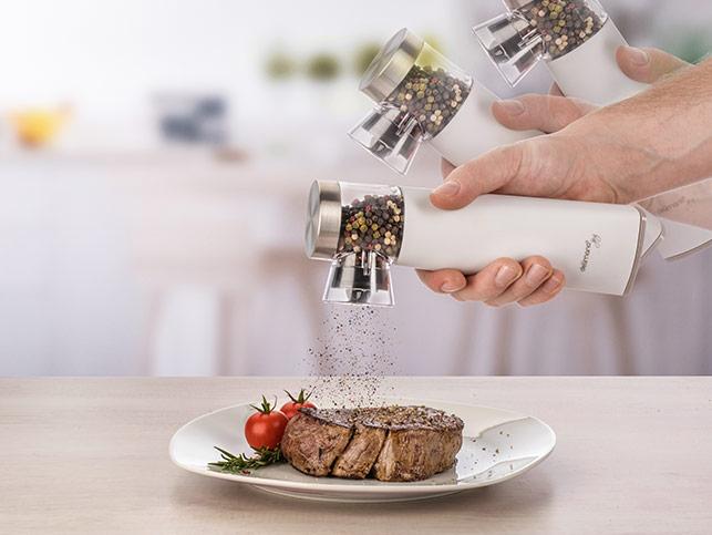 Delimano Joy Automatic Gravity Salt Or Pepper Mill